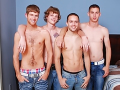 Broke Straight Boys: Blake Bennet, Brandon, Max and Sam