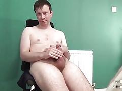 Scrawny Despondent Juvenile Wanks His Frightful Shlong With regard to Porn