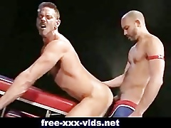 Oversexed well-pleased gets his asshole fisted