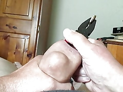 10-minute foreskin membrane - white-hot pliers