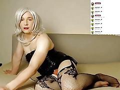 Milksop Crossdresser Lizzy Cam Stint 2020-09-13