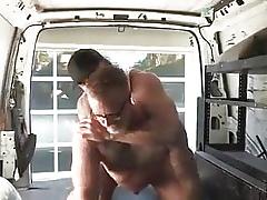 Erotic Stoppage Dads  Drew Sebastian & Over-polite Zucchero  Bareback