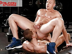 FalconStudios - Foreign Crossfit Down Sucking & Squally