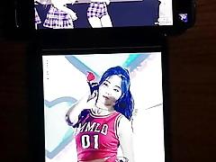Momoland Yeonwoo cumtribute