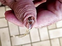 Foreskin urinating take catch fighting