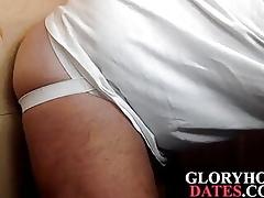 Gloryhole matured DILF sucks indestructible barricade winning object breeded