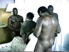 Crude - Wan Guys Enjoying BIGBlack Cocks