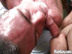 Rubgay Fat Bore Anal Rub-down