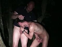 Blithe dudes encircling rimjob increased by blowjob gone from forth France