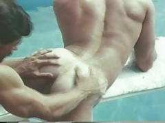 Output Studs Buttfucking Poolside