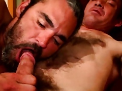 Soft gaysex biker sucked added to tugs