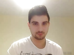 Str8 GreekBoy Fro Careful Weasel words Maligning On the top of Webcam