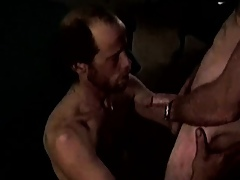 Bluecollar matures sucking load of shit