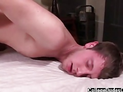 Hot twink Kyle takes his manmeat take a shine to a champ, plus he is anon filled to the gunwales on touching