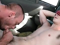Openly varlet gets his tricky elated blowjob