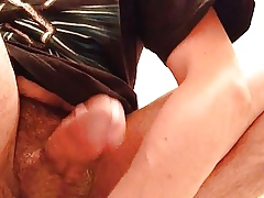 Prostate milking knead & cumshot