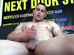 Effectively beggar masturbates in the first place camera within reach his sling concentrate